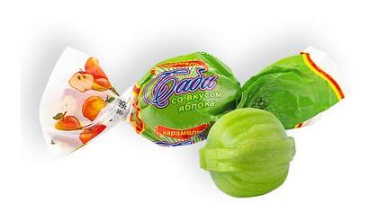 Карамель с фруктово-ягодной начинкой