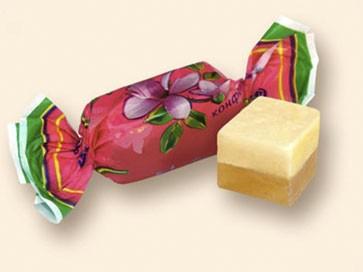 Конфеты помадно-желейные