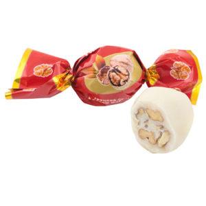 Nuts in chocolate glaze