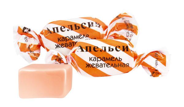 Конфеты жевательные Апельсин