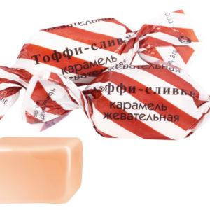 Конфеты жевательные Тоффи-сливки