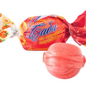 Саби со вкусом клубники (шарик)